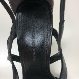 Sigerson Morrison Shoes - Sigerson Morrison Melody Black Lace Up Heel Sandal